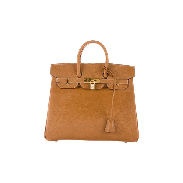 Cheap Hermes Women Natural ARDENNES HAC BIRKIN 32 Online