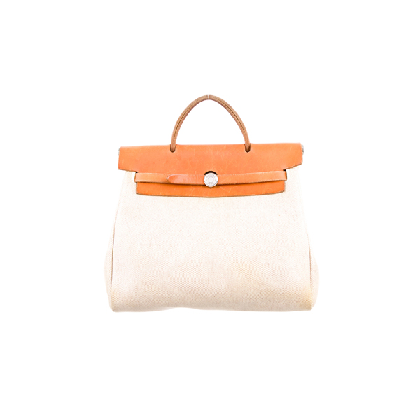 Cheap Hermes Women Neutrals HERBAG BACKPACK Online