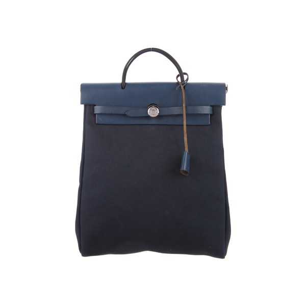 Cheap Hermes Women Blue HERBAG BACKPACK Online