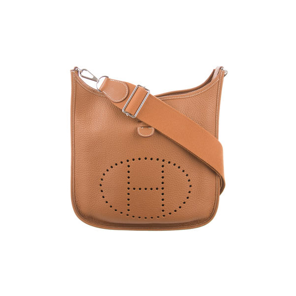 Cheap Hermes Women Brown EVELYNE III PM Online
