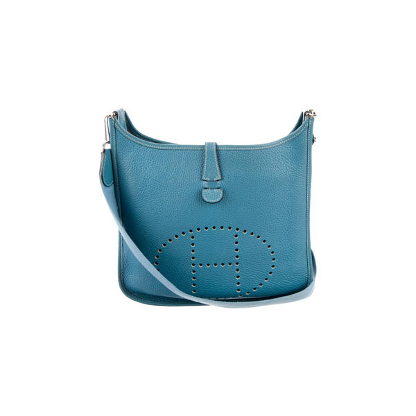 Cheap Hermes Women Blue EVELYN I PM Online