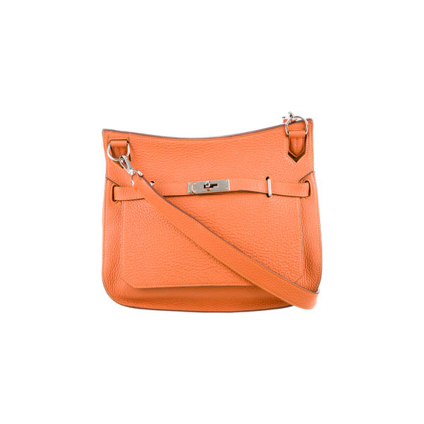 Cheap Hermes Women Orange CLEMENCE JYPSIÈRE 28 Online