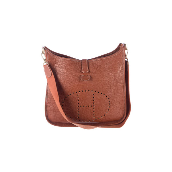 Cheap Hermes Women Brown EVELYNE I GM Online