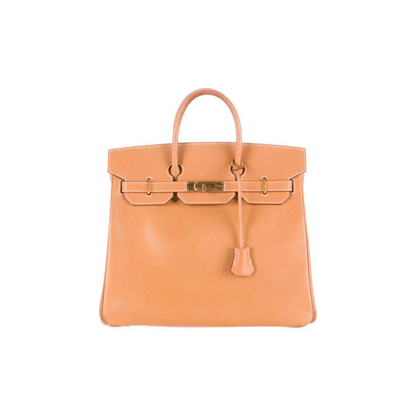 Cheap Hermes Women Natural BIRKIN HAC 32 Online