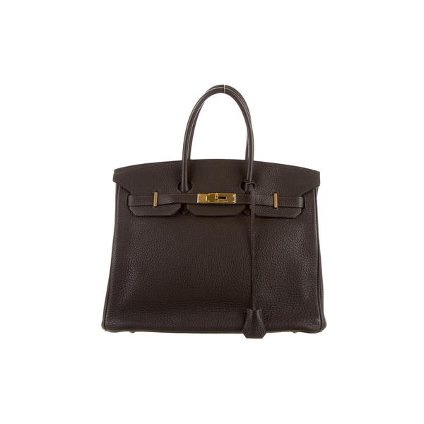 Cheap Hermes Women CafE CLEMENCE BIRKIN 35 Online