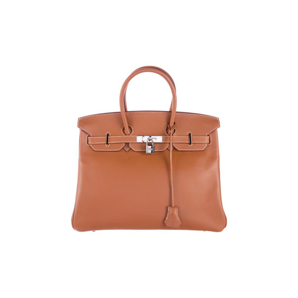 Cheap Hermes Women  Gold SWIFT BIRKIN 35 Online