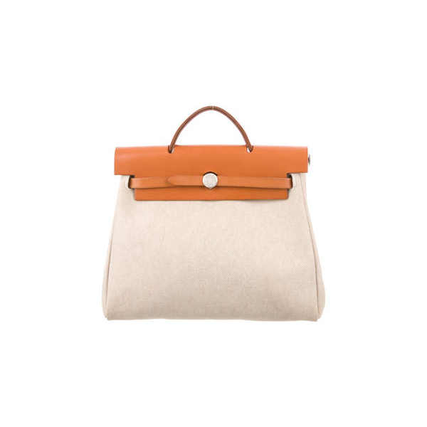Cheap Hermes Women Natural toile HERBAG PM Online