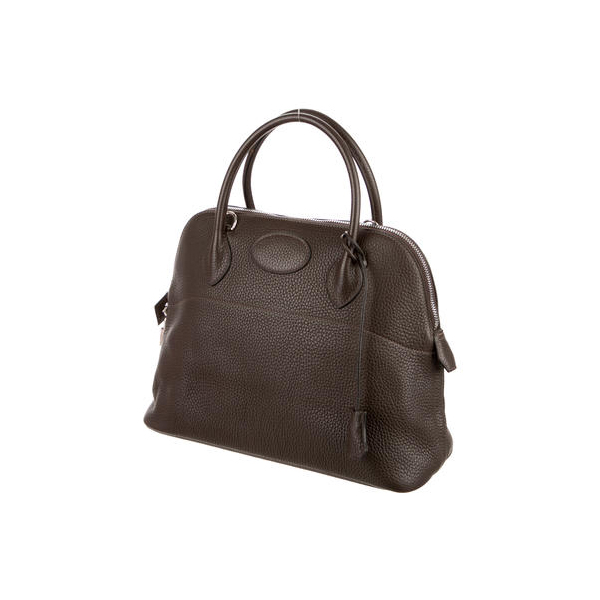 Cheap Hermes Women Chocolat Clemence CLEMENCE BOLIDE 31 Online
