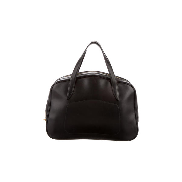 Cheap Hermes Women Black SWIFT DOHA BAG Online