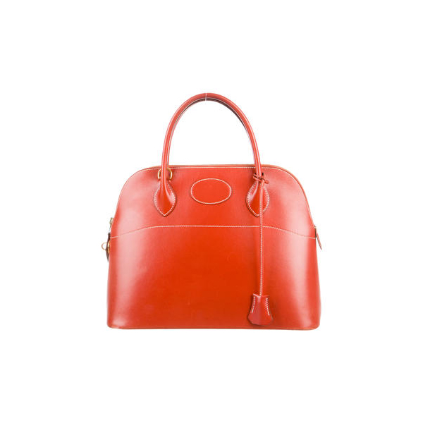 Cheap Hermes Women Brique  BOX BOLIDE 31 Online