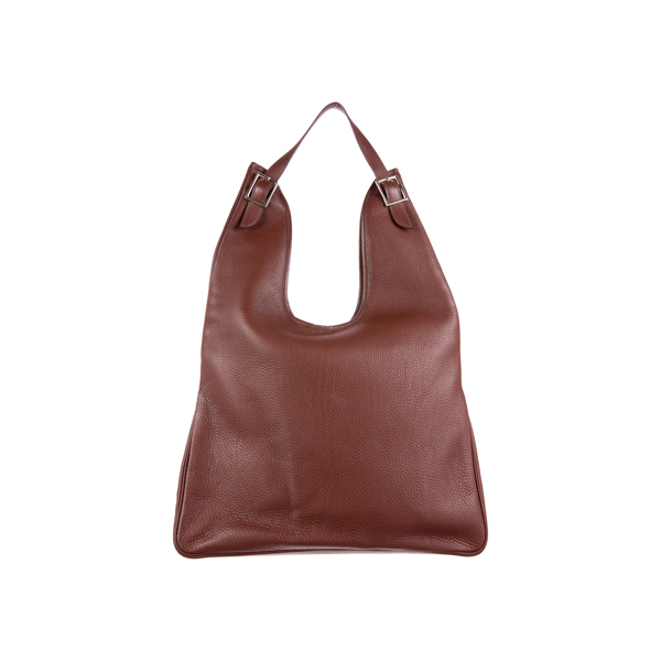 Cheap Hermes Women Burgundy MASSAI GM Online