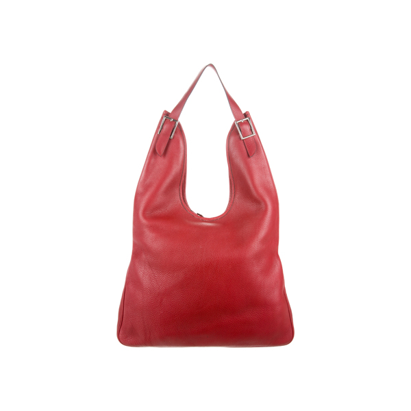 Cheap Hermes Women Red CLEMENCE MASSAI GM Online