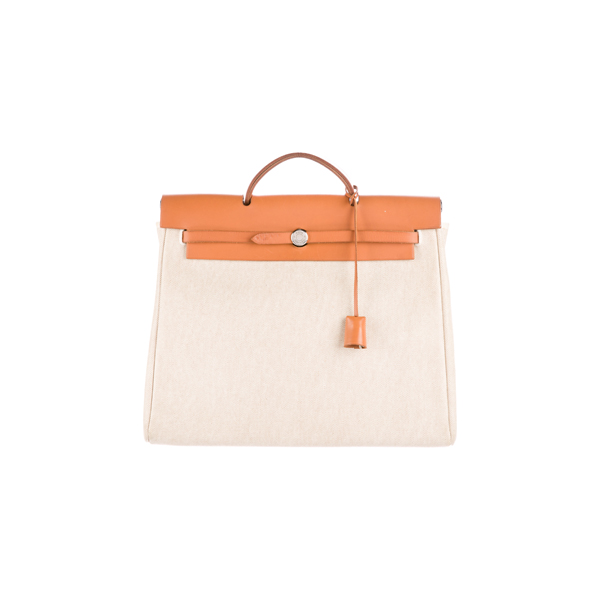 Cheap Hermes Women Brown HERBAG MM Online
