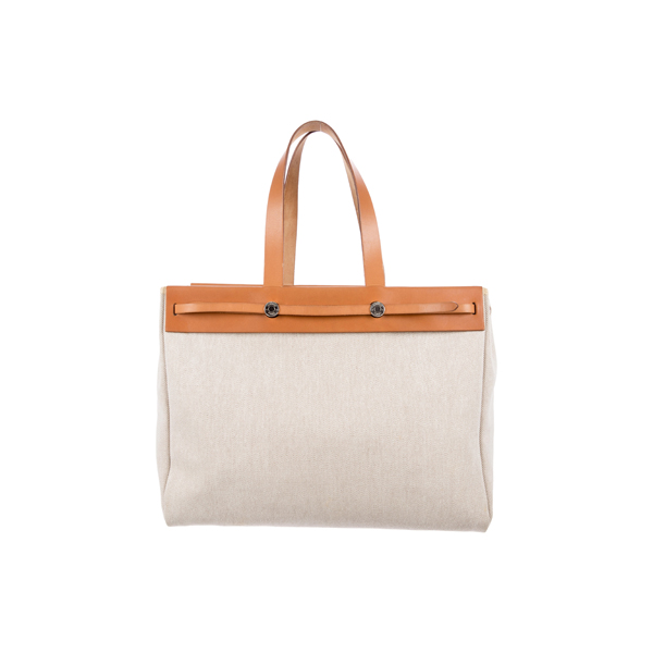 Cheap Hermes Women Neutrals HERBAG GM Online
