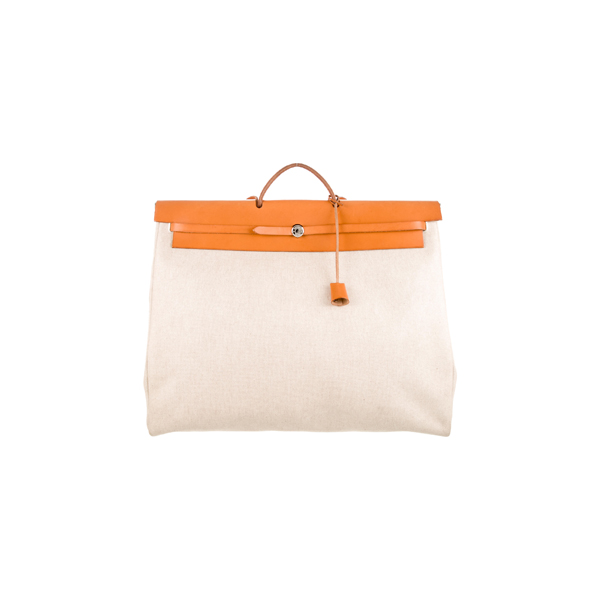 Cheap Hermes Women Neutrals HERBAG TGM Online
