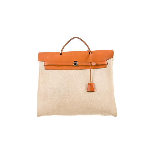 Cheap Hermes Women Brown and Neutrals HERBAG GM Online