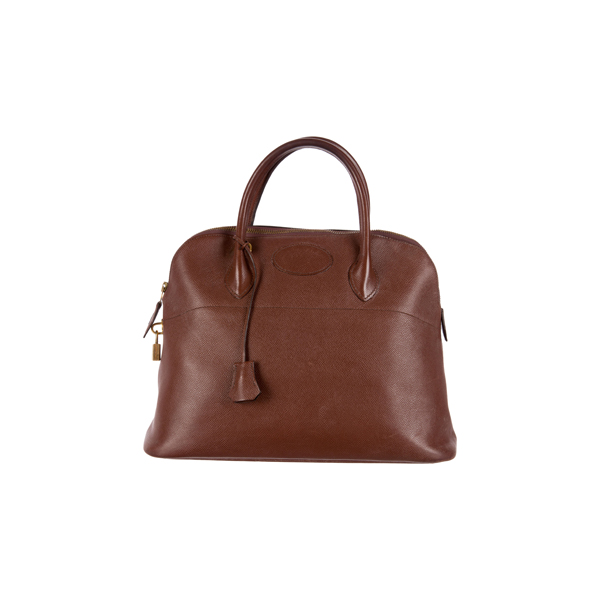 Cheap Hermes Women Brown BOLIDE 35 Online