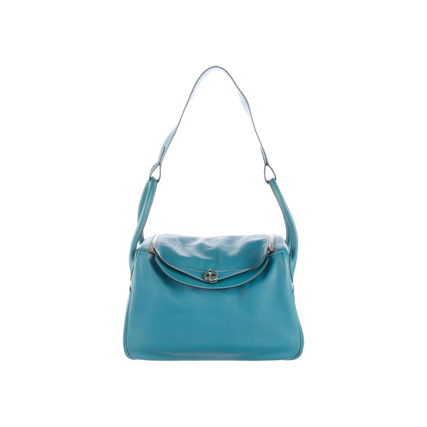 Cheap Hermes Women Blue SWIFT LINDY 34 Online