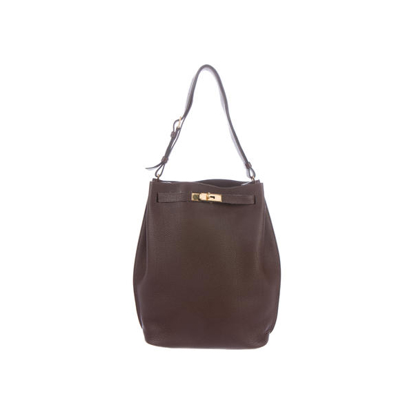 Cheap Hermes Women Chocolate SO KELLY 26 Online