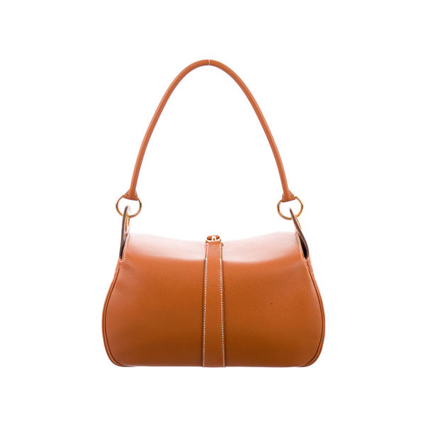 Cheap Hermes Women Brown EPSOM RUGBY BAG Online