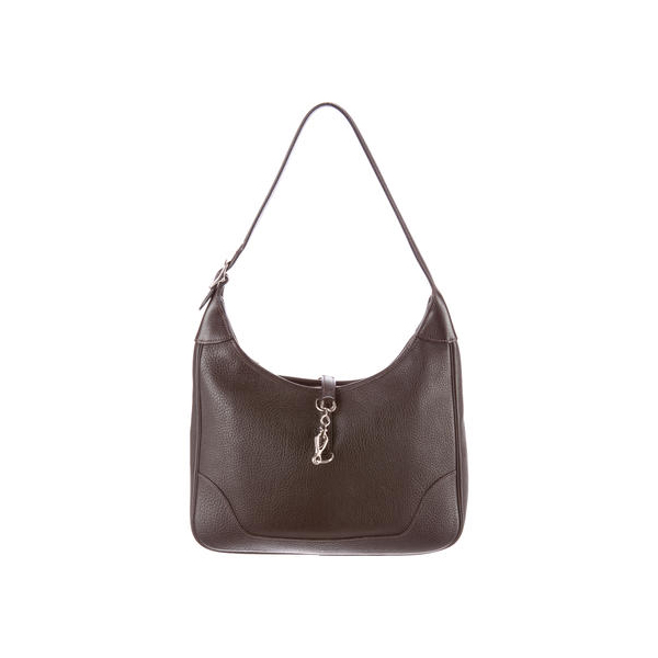 Cheap Hermes Women Chocolate CLEMENCE TRIM II 31 Online
