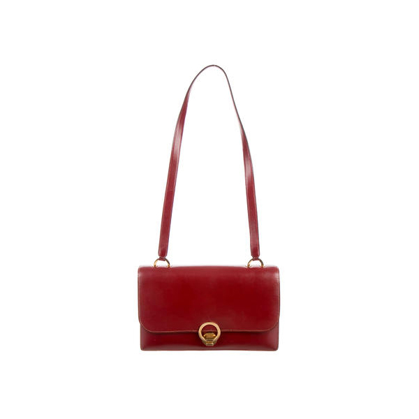 Cheap Hermes Women Rouge VINTAGE SAC RING SHOULDER BAG Online