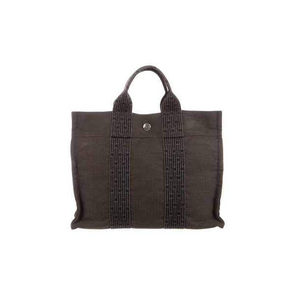 Cheap Hermes Women Grey and black FOURRE TOUT PM Online