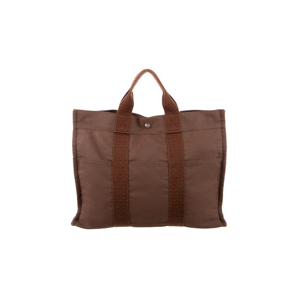 Cheap Hermes Women Brown HERLINE MM TOTE Online