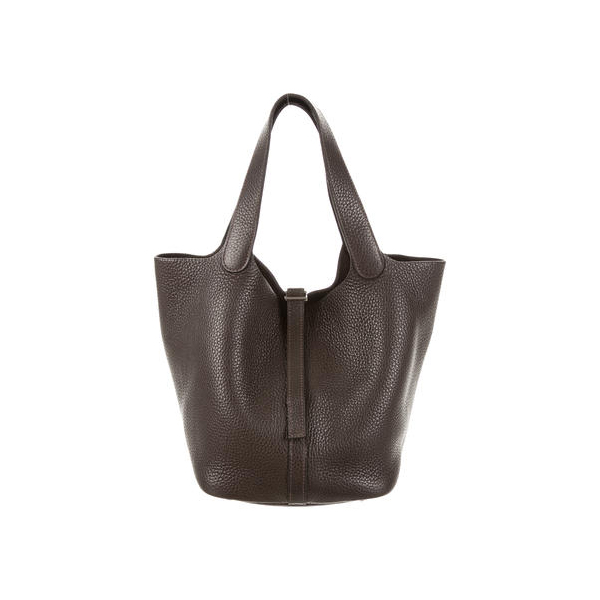 Cheap Hermes Women Brown CLEMENCE PICOTIN MM Online