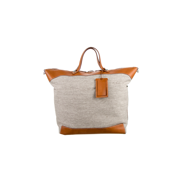 Cheap Hermes Women Neutrals CALECHE EXPRESS WEEKEND BAG Online