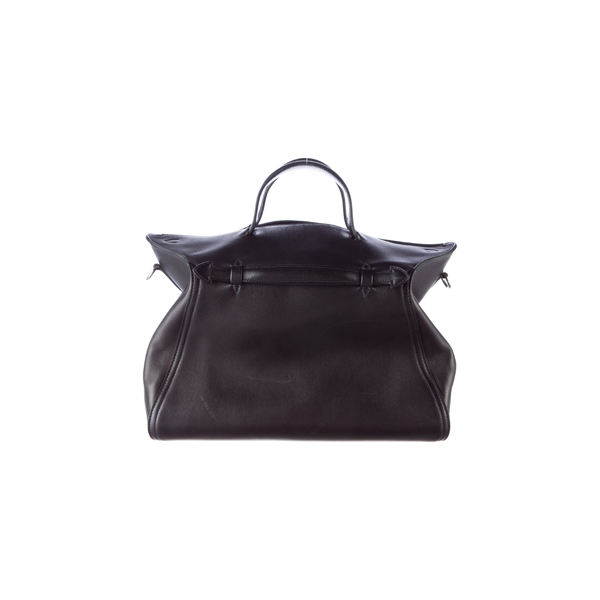 Cheap Hermes Women Black EVERGRAIN OXER BAG Online
