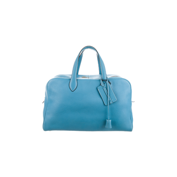 Cheap Hermes Women Blue CLEMENCE VICTORIA TRAVEL 43 Online